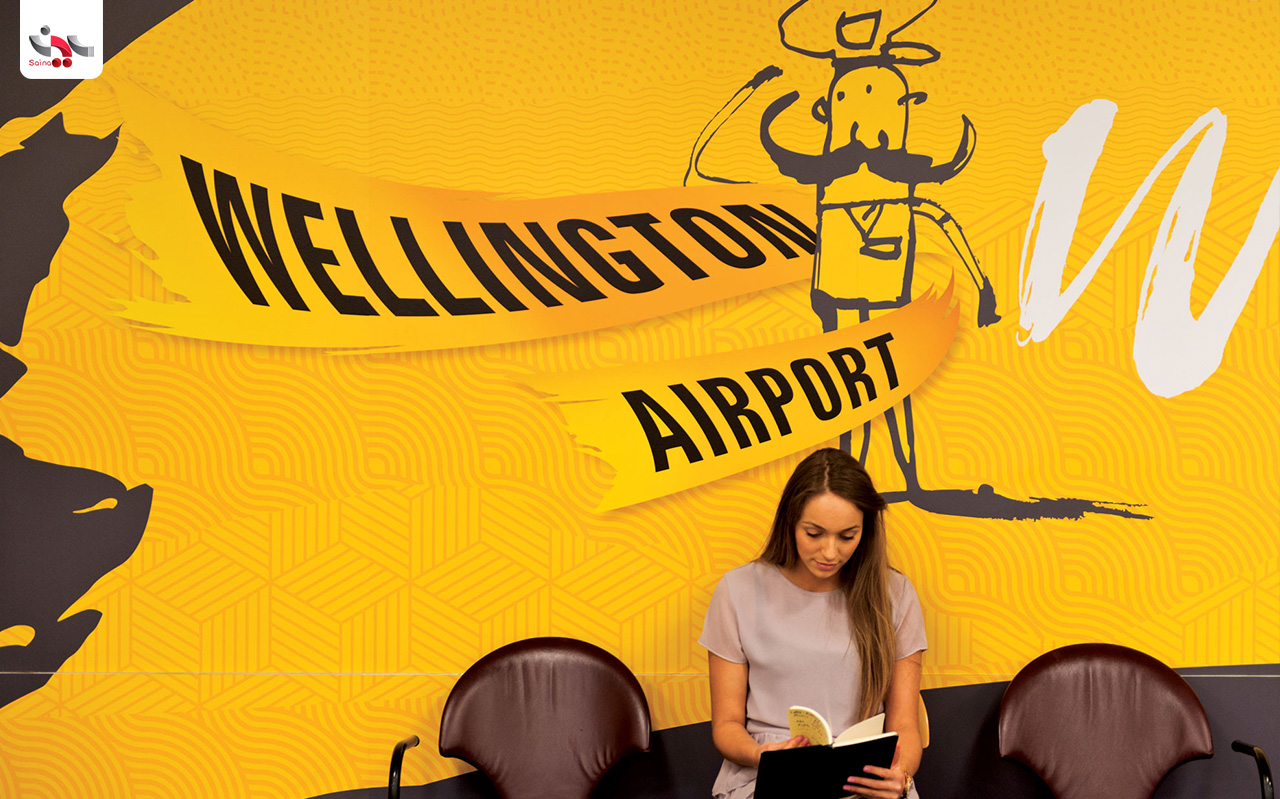 کن کاتو - Wellington Airport