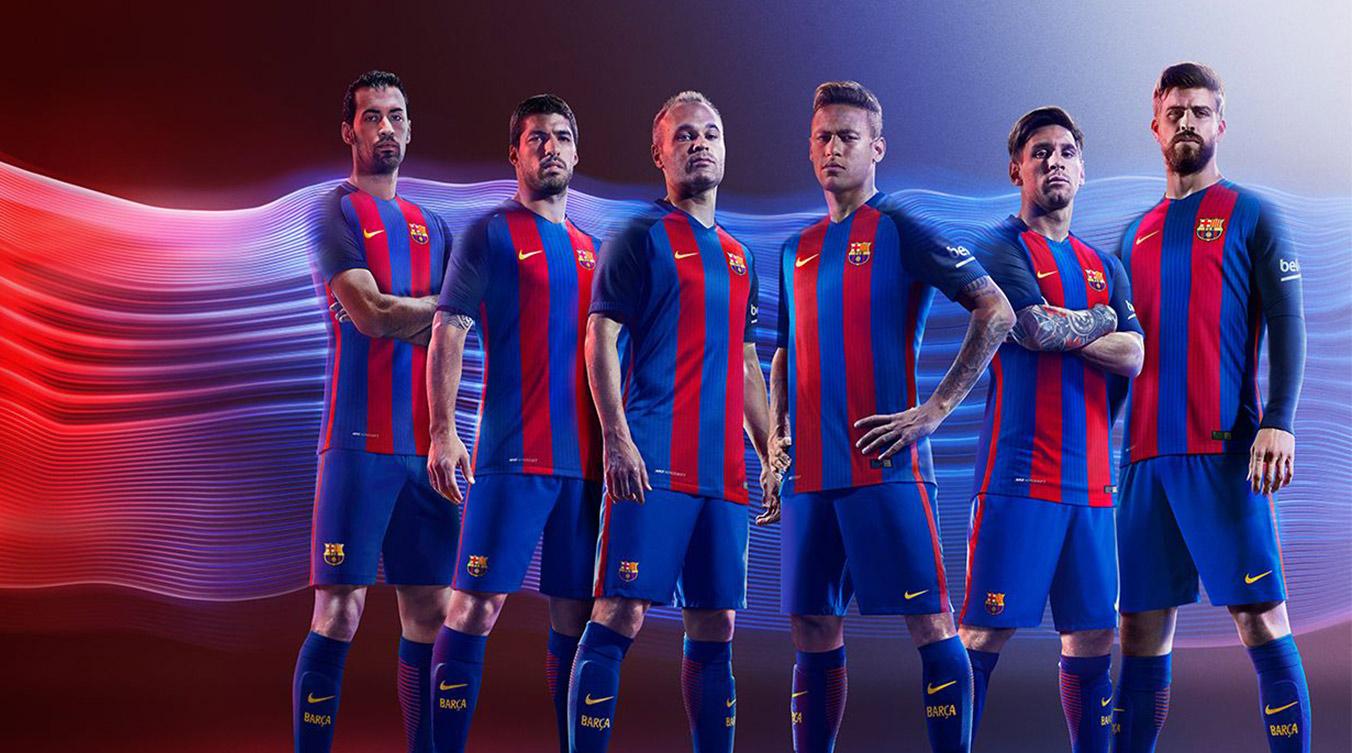 Barcelona fc 16 17 kit