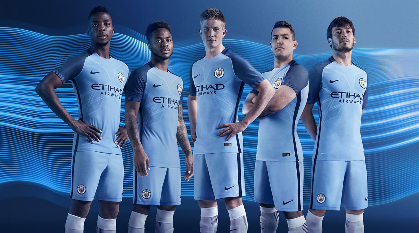 Man City fc 16 17 kit