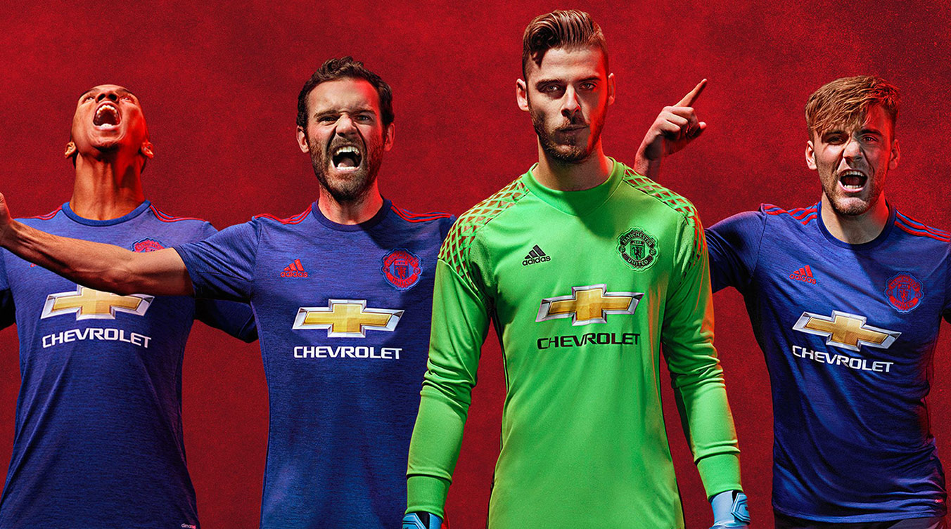 Man united fc 16 17 kit