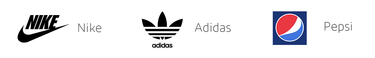 Nike adidas pepsi logo