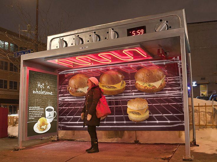 تبلیغات بازاریابی تجربی رستوران