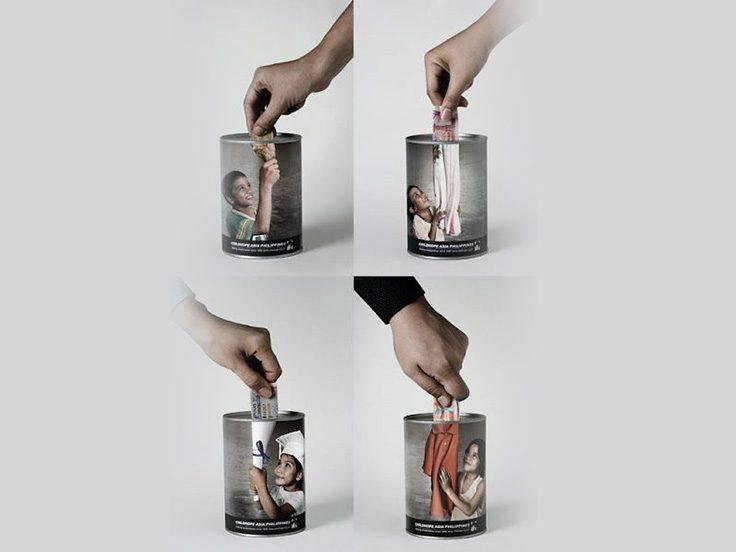 تبلیغات بازاریابی تجربی دستمال کاغذی