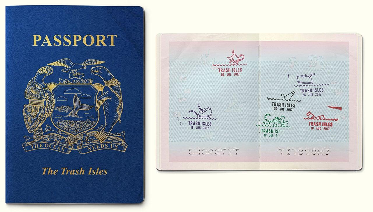 پاسپورت جزایر زباله