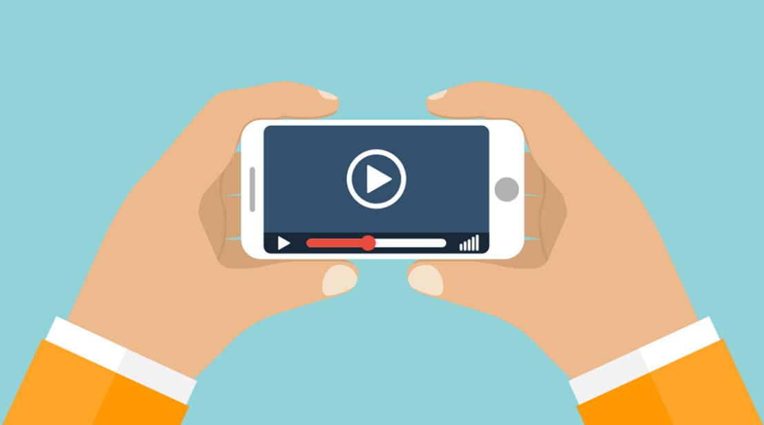 تبلیغات ویدئویی موبایل Mobile video advertising