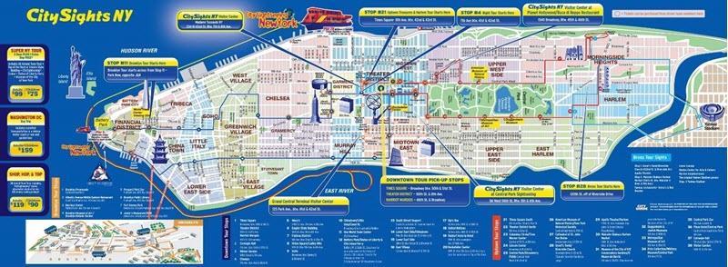 تبلیغات در نقشه های شهری