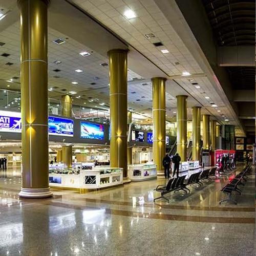تبلیغات در فرودگاه هاشمی مشهد